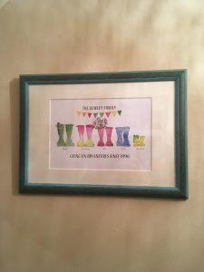Personalised Artwork framed by Telford Picture Framer
