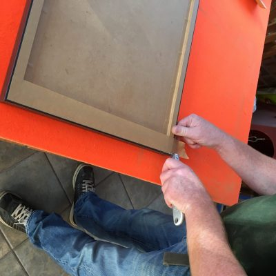 Telford Picture Framing in Action!