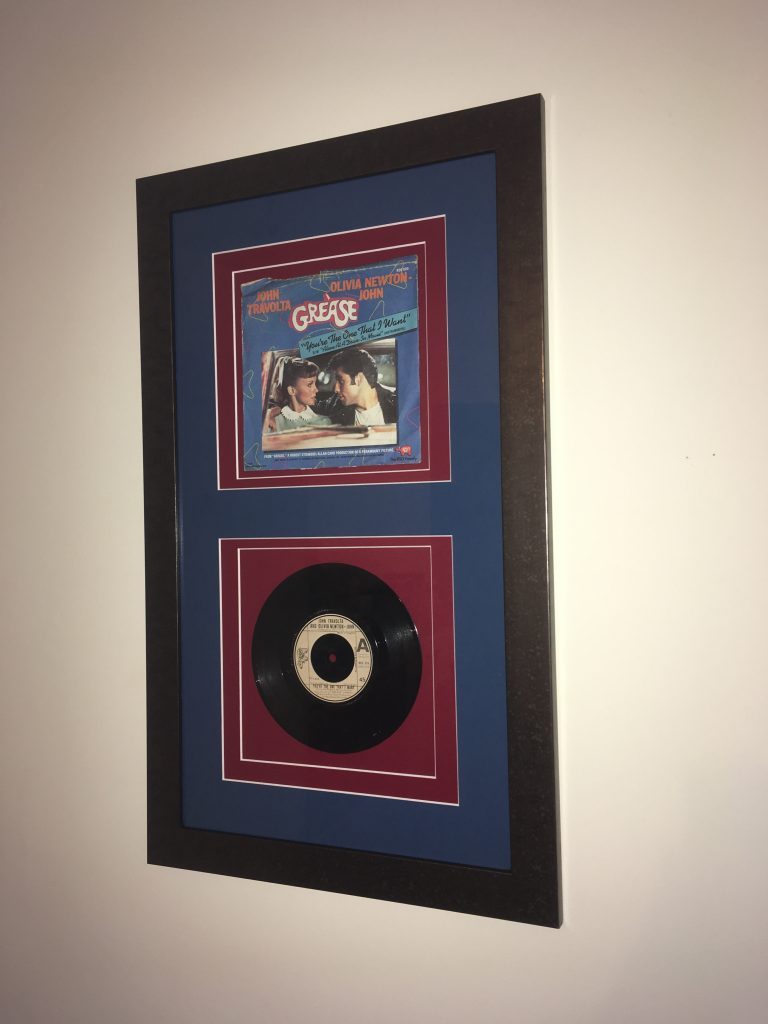 Music Memorabilia Framing by Telford Picture Framer