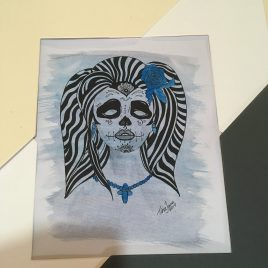 Day of the Dead Watercolour