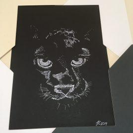 Black Panther Art
