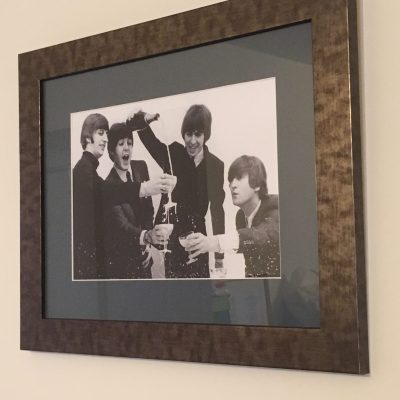 Music Memorabilia Framed